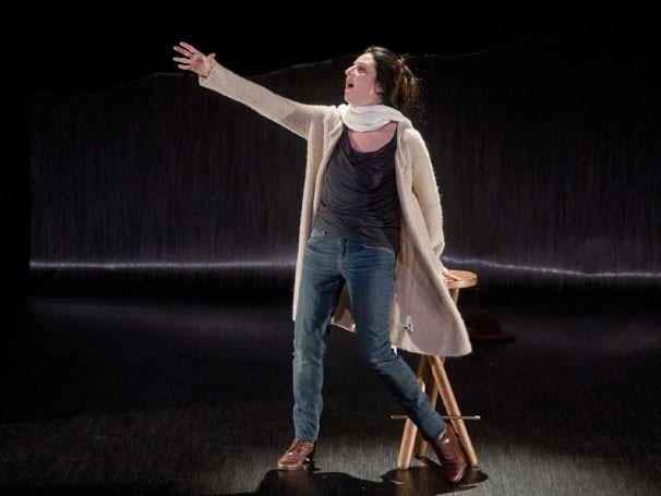 Clarice Niskier em cena de 'A Lista': nova parceria com diretor Amir Haddad  (Foto: Divulgação)