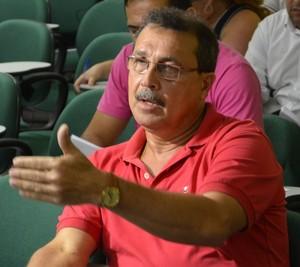 Edson Izidório, presidente do Atlético-AC (Foto: Duaine Rodrigues)