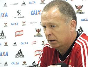 Mano Menezes, treino Flamengo (Foto: Cahê Mota)