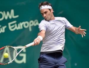 ee2d445ca5 Roger Federer tênis contra Tommy Haas ATP de Halle (Foto  AP)