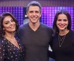 Márcio Garcia entre Juliana Paes e Bruna Marquezine | Artur Meninea/TV Globo