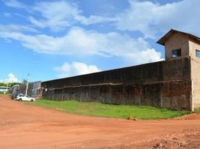 Mini presídio de cacoal (Foto: Rogério Aderbal/G1)