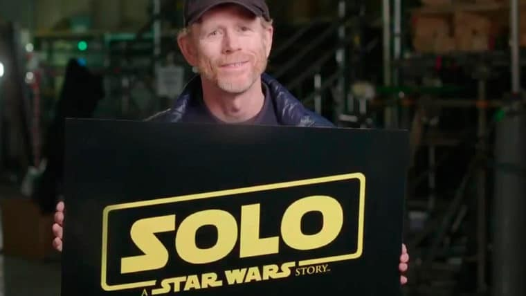 Ron Howard apresenta o nome oficial do spin off de Star Wars estrelado por Han Solo (Foto: reprodução)