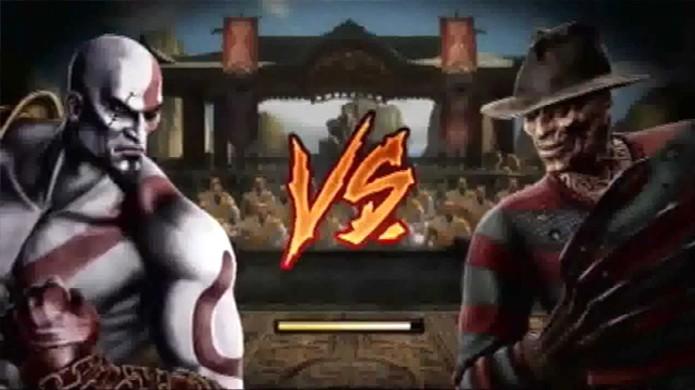 Mortal Kombat X terá convidado especial assim como Kratos e Freddy Krueger no jogo anterior (Foto: youtube.com)