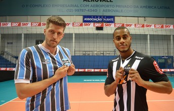 Grêmio x Galo: final deixa campeões olímpicos do vôlei em lados opostos