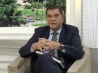 Carlos Amastha é entrevistado pelo Jornal Anhanguera 1ª edição