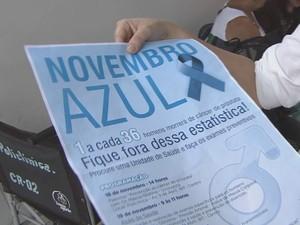 'Novembro Azul' alerta homens sobre o câncer de próstata na Baixada (Foto: Reprodução/TV Tribuna)