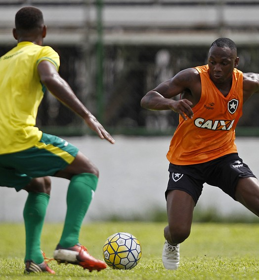 último teste (Vitor Silva/SSPress/Botafogo)