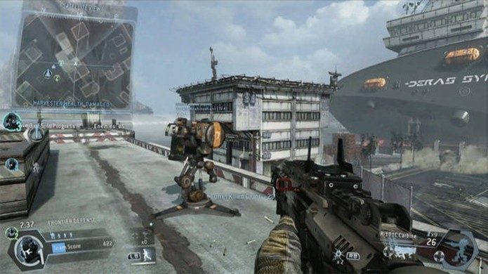 Frontier Defense coloca 4 jogadores para enfrentar hordas de inimigos (Foto: Eurogamer)