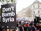 Londres, Barcelona e Madri têm protestos contra bombardeios na Síria