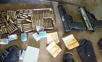 PM prende suspeitos de explosão de banco (Divulgação/PMPB)