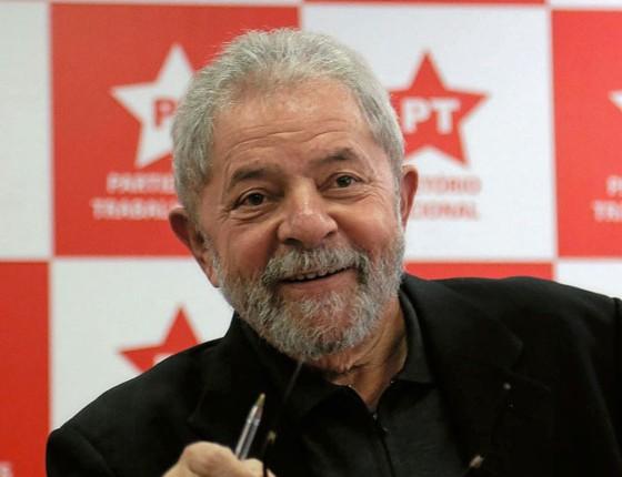 O ex-presidente Luiz Inácio Lula da Silva (Foto: Newton Menezes/Futura Press)