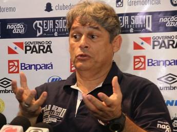 Marcelo Veiga, técnico no Remo (Foto: Igor Mota/O Liberal)