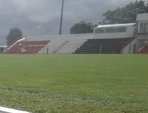 Estádio Olival Elias, em Boca da Mata-AL (Foto: Leonardo Freire/GLOBOESPORTE.COM)