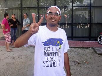 Bruno foi aprovado em medicina na UPFE e na UPE (Foto: Débora Soares/G1)