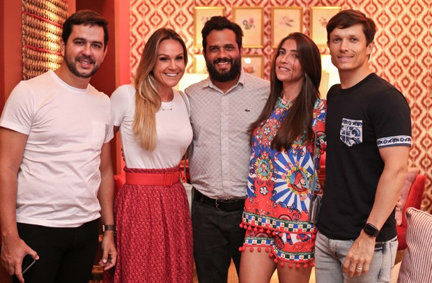 Bernardo e Daniela Araujo, Caio Bandeira, Priscila Prado e Gabriel Costa (Foto: Divulgação)