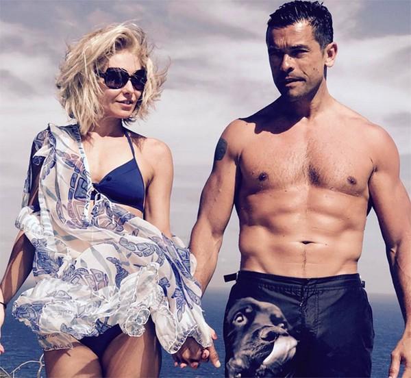 Kelly Ripa e Mark Consuelos (Foto: Instagram)