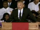 Funeral de Whitney Houston é realizado na igreja de sua cidade natal