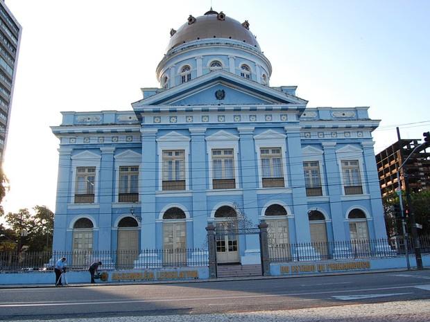 Assembleia Legislativa de Pernambuco (Alepe) (Foto: G1)