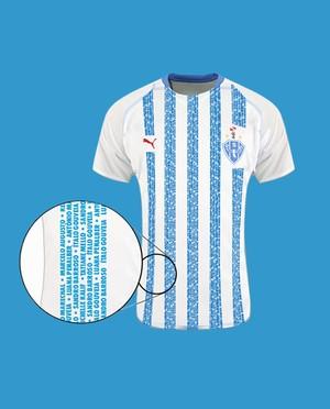 Camisa será alusiva ao centenário do Paysandu (Foto: Arte: Nathiel Sarges e Ascom Paysandu)