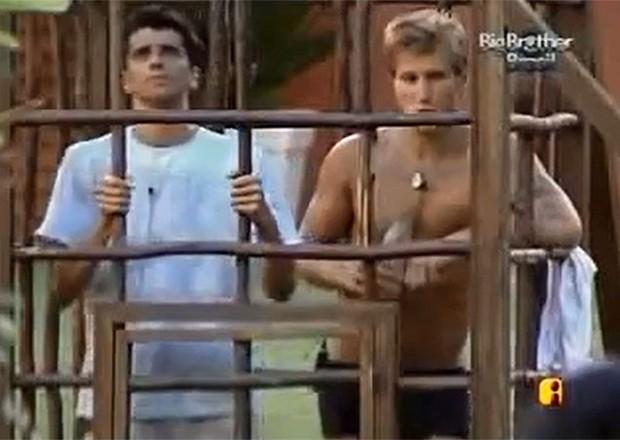 Prova da gaiola no BBB 7 (Foto: TV Globo)