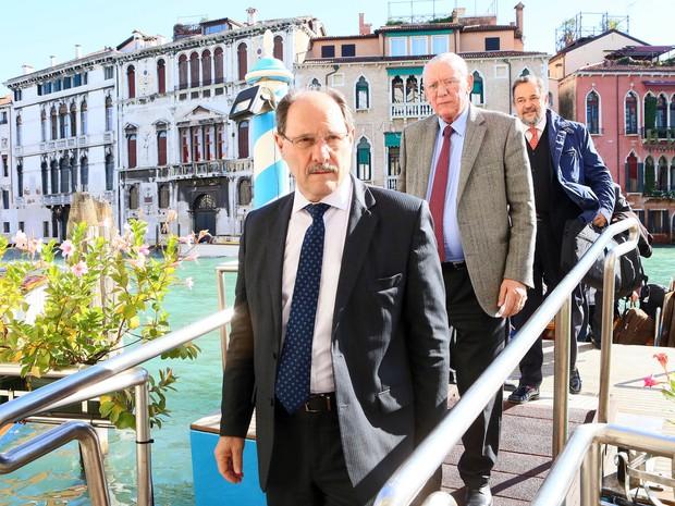 Governador durante viagem a Veneza, na Itália em outubro (Foto: Foto: Luiz Chavez/Palácio Piratini)