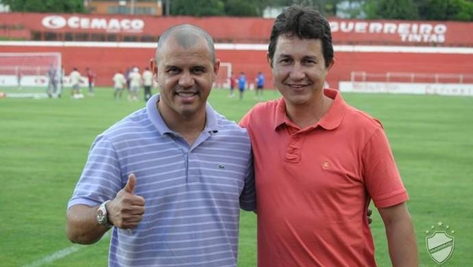 Roni e Tim - Vila Nova (Foto: Divulgação / Vila Nova)