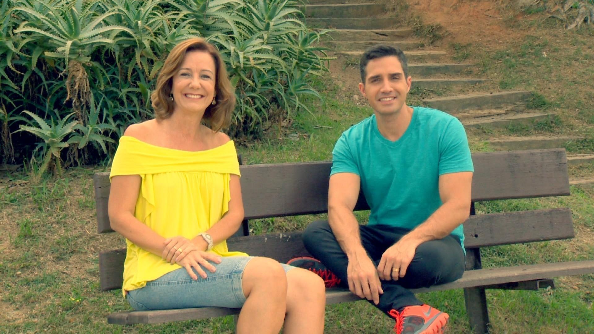 Sandra e Cesinha comandam o Leve a Vida (Foto: Divulgação/ TV Gazeta)