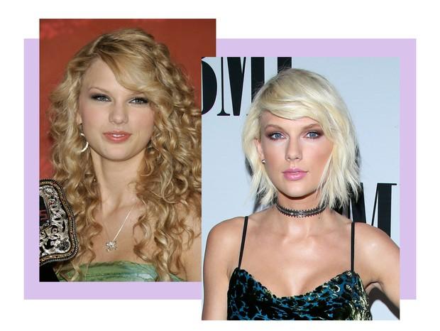 A evolução de beleza de Taylor Swift (Foto: Getty Images)