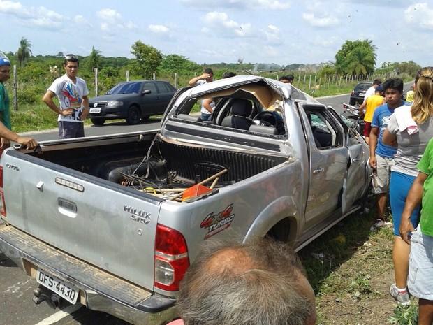 capotamento oriximiná (Foto: Divulgação/12º CIPM)