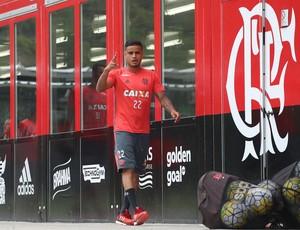 Everton, Flamengo, CT, treino (Foto: Gilvan de Souza/Flamengo)