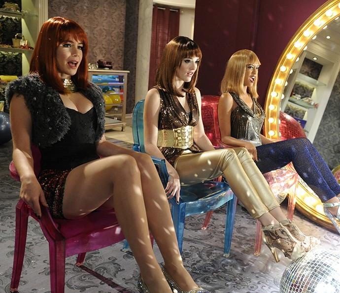 Clipe de Cida, Rosário e Penha faz sucesso na internet (Foto: TV Globo)
