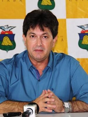 Carlos Brito, secretário de esportes de Cuiabá (Foto: Luiz Alves/Secom )