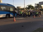 Motorista de carro teria feito manobra proibida, diz condutor de BRT no Rio
