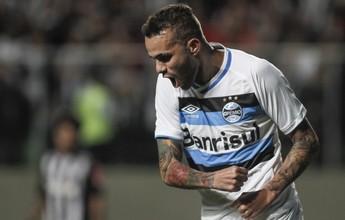 """Falso 9, Luan volta a brilhar e retoma posto de """"rei dos números"""" no Grêmio"""
