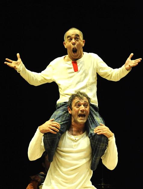Domingos Montagner e Fernando Sampaio (Foto: Carlos Gueller)