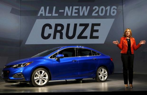 Presidente-executiva da GM, Mary Barra, foi chamada por Trump para ser consultora para criação de empregos nos EUA (Foto: Rebecca Cook/Reuters)