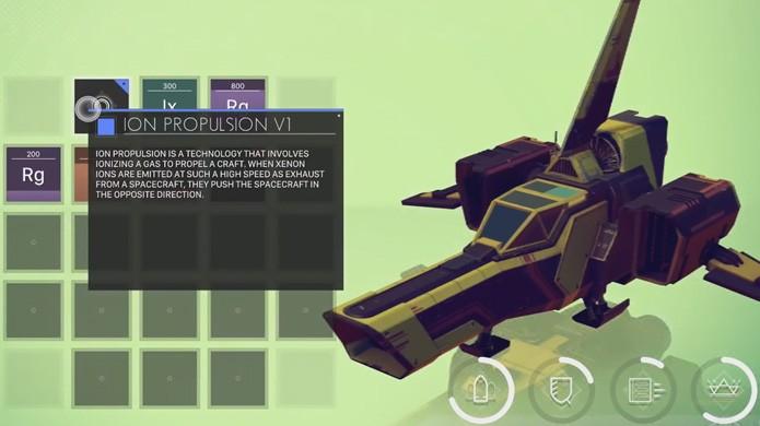 Upgrades em No Mans Sky exigem recursos retirados dos planetas (Foto: Reprodução/YouTube)