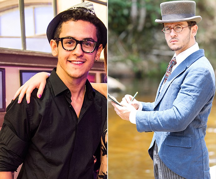 David foi o Orelha na temporada de 2012 de 'Malhação' e será Jack na nova novela das 6 (Foto: Ellen Soares/Gshow)