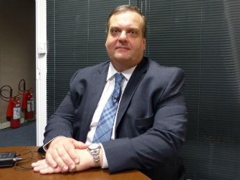 Leon Grupenmacher é o novo secretário de Segurança Pública do Paraná  (Foto: Adriana Justi / G1)