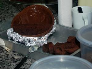 Mistura entre ovo de páscoa e chocolate é aposta de doceira de Tatuí (Foto: Maria Eliza Rosa/ G1)