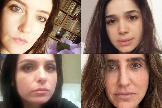 Mônica Iozzi, Monique Curi, Larrissa Maciel e Sabrina Petraglia (Foto: Instagram / Reprodução)