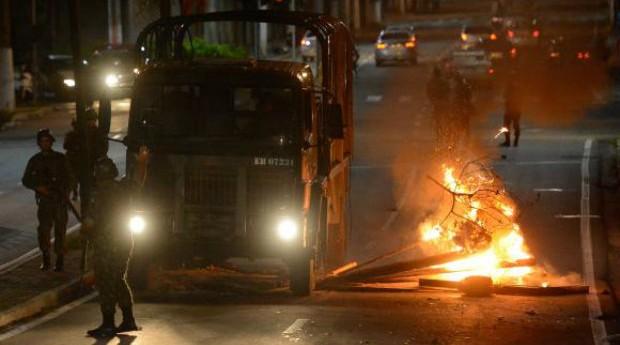 Clima de tensão tem tomado conta da Grande Vitória (Foto: Reprodução/Agência Brasil)