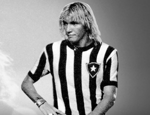 Capa do site oficial do Botafogo homenageia Marinho Chagas (Foto: Reprodução)