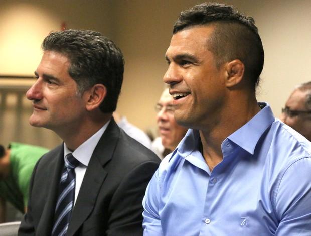 Vitor Belfort Reunião comissão UFC (Foto: Evelyn Rodrigues)