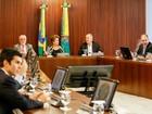 Dilma comanda reunião com 23 ministros no Palácio do Planalto