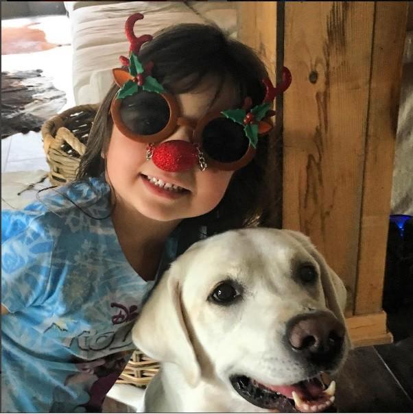 Maitê animada para o Natal (Foto: Instagram)