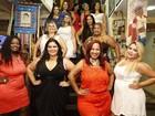 Concurso elege 'mais bela gordinha' do RJ; veja fotos das candidatas