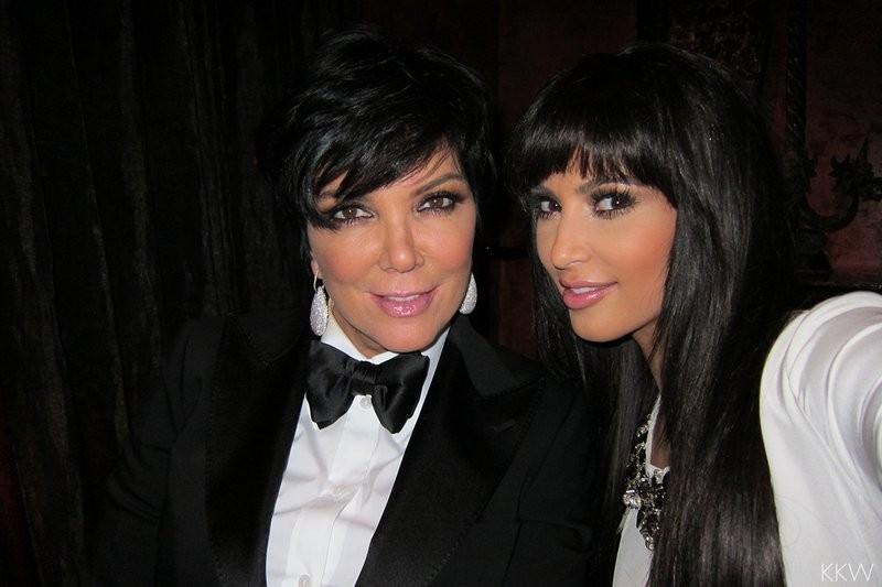 Kim e Kris no Réveillon 2011 (Foto: Reprodução)