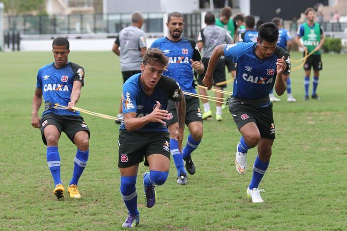 romarinho vasco treino fisico (Foto: Marcelo Sadio/vasco.com.br)